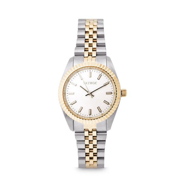 Tayroc Launton Gold 31mm Analog Watch