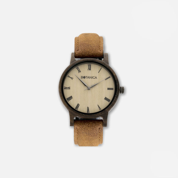 Botanica Cedar Watch - 42mm Edition Vegan Tan
