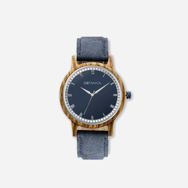 Botanica Elm Watch - 42mm Edition Vegan Navy
