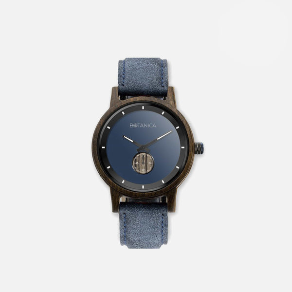 Botanica Moonflower Watch - 42mm Edition Vegan Navy