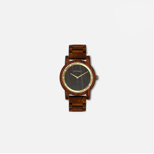 Botanica Poppy Watch - 36mm Edition Woodlink