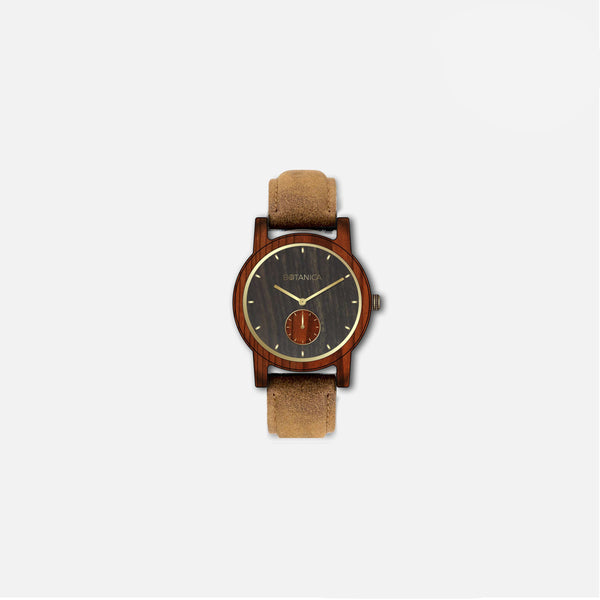Botanica Rose Watch - 36mm Edition Vegan Tan