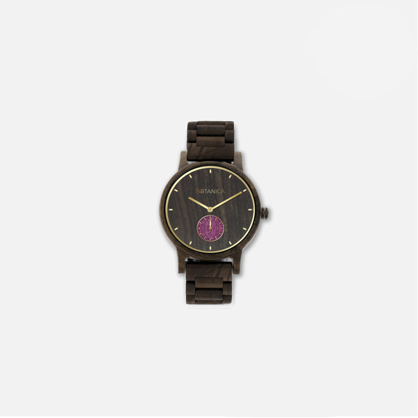 Botanica Violet Watch - 36mm Edition Woodlink