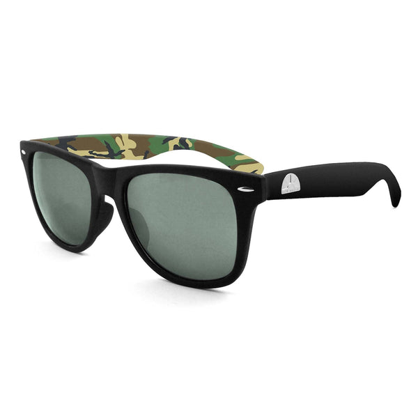 East Village Classic 'Sandler' Retro in Black/camo