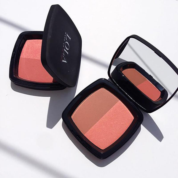 Lola Make Up by Perse Blusher Duo 001-Apricot