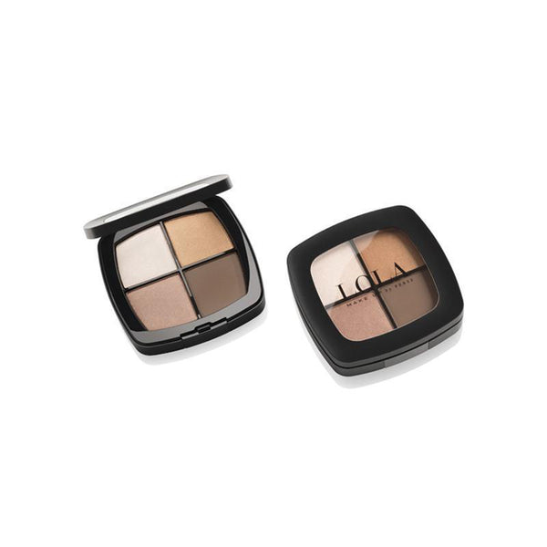 Lola Make Up by Perse Eyeshadow Quad 001-Natural
