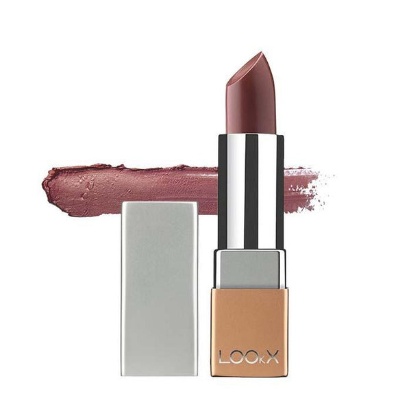 LOOkX Lipstick 85 Iced Brown Pearl