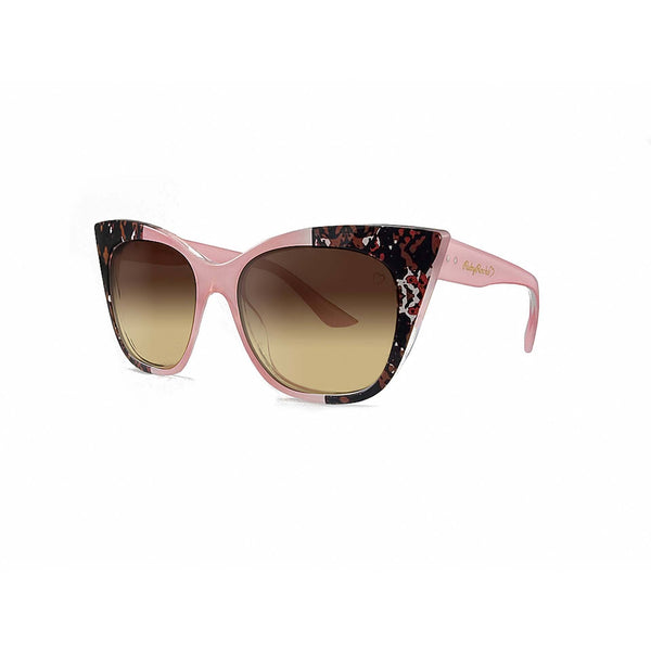 Ruby Rocks Animal Tip 'Gozo' Cateye in Pink