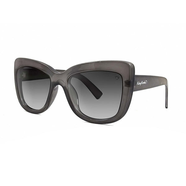 Ruby Rocks Crystal 'Cannes' Grey Angled Cateye