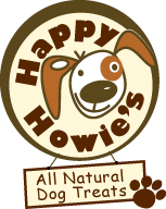 Happy Howies all natural dog treat, made in USA
