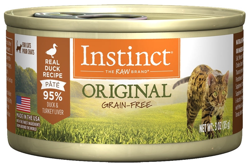 Instinct Grain-Free Duck Formula Canned Cat Food - Mr Mochas Pet Supplies