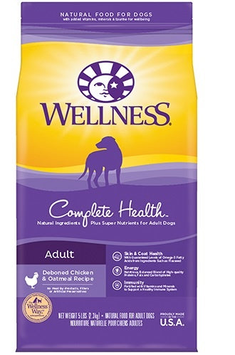 Wellness Complete Health Natural Chicken Recipe Dry Dog Food - Mr Mochas Pet Supplies