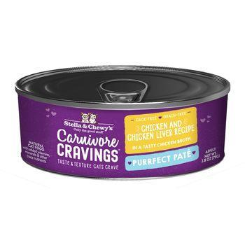 Stella & Chewy's Cat Wet Carnivore Cravings Pate Chicken & Liver 2.8 oz - Mr Mochas Pet Supplies