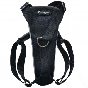 Bark Appeal Reflective Control Harness Black - Mr Mochas Pet Supplies