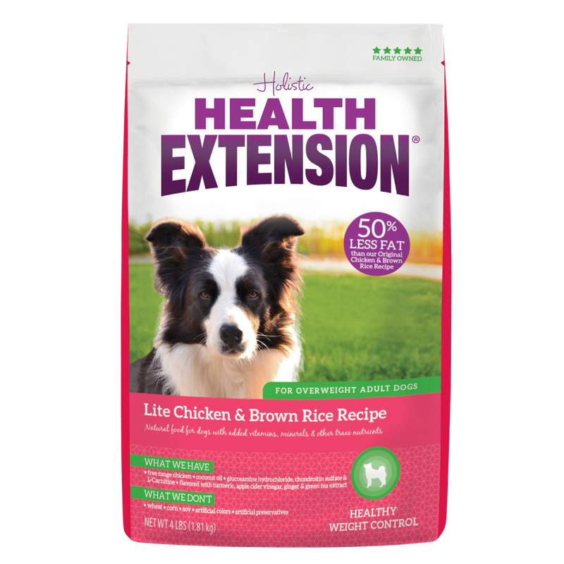 Health Extension Lite Chicken and Brown Rice Dry Dog Food - Mr Mochas Pet Supplies