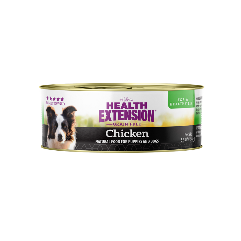 Health Extension Grain Free 95% Chicken Canned Dog Food - Mr Mochas Pet Supplies