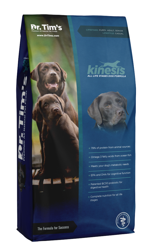Dr. Tim's Kinesis All Life Stages Dry Dog Food - Mr Mochas Pet Supplies