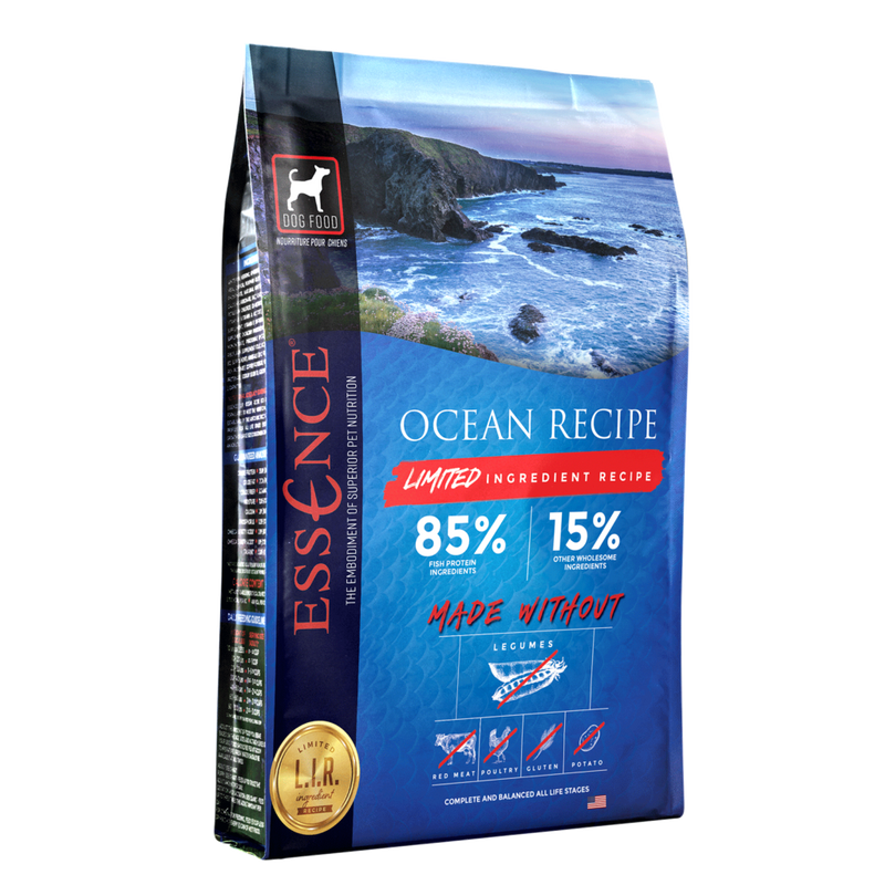 Essence Dog Dry LIR Ocean Recipe - Mr Mochas Pet Supplies