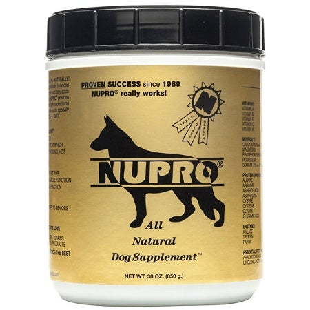 Nupro All Natural Dog Supplement - Mr Mochas Pet Supplies