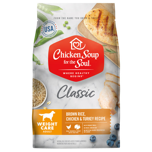 Chicken Soup For The Soul Weight Care Dry Dog Food - Mr Mochas Pet Supplies
