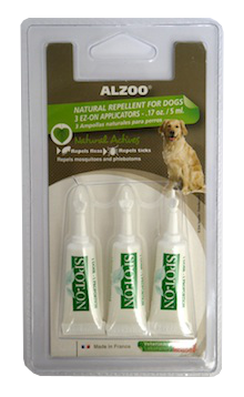 Alzoo Spot On Natural Flea and Tick Repellent for Dogs - Mr Mochas Pet Supplies
