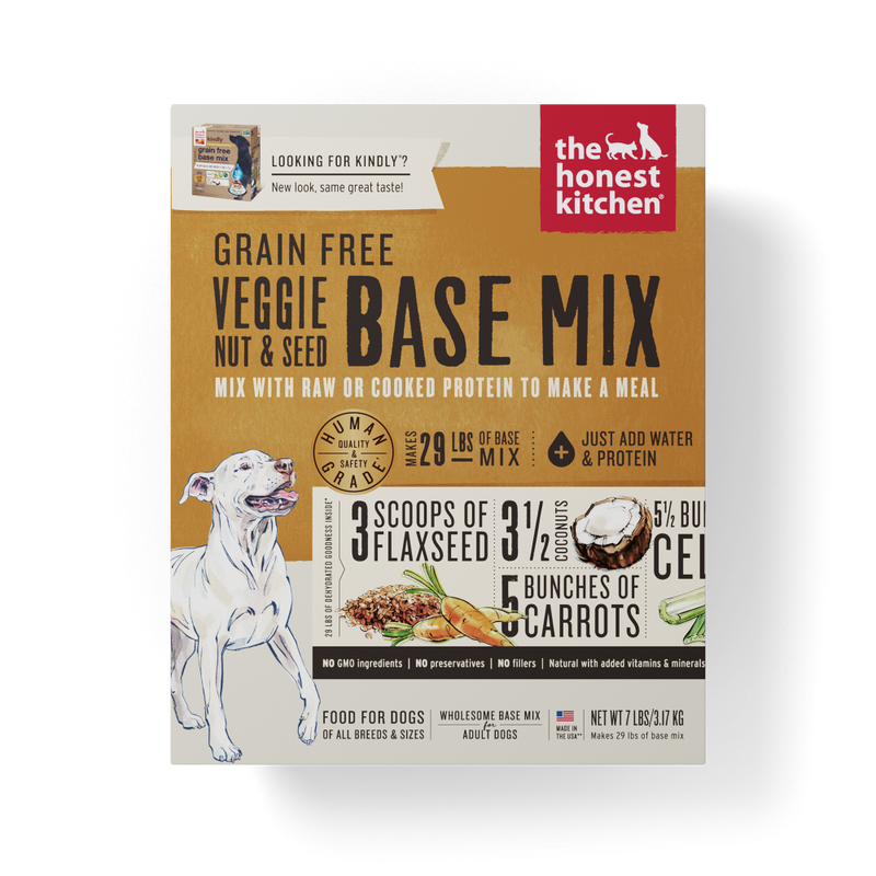 The Honest Kitchen Grain Free Veggie, Nut & Seed Recipe Dog Food Base Mix - Mr Mochas Pet Supplies