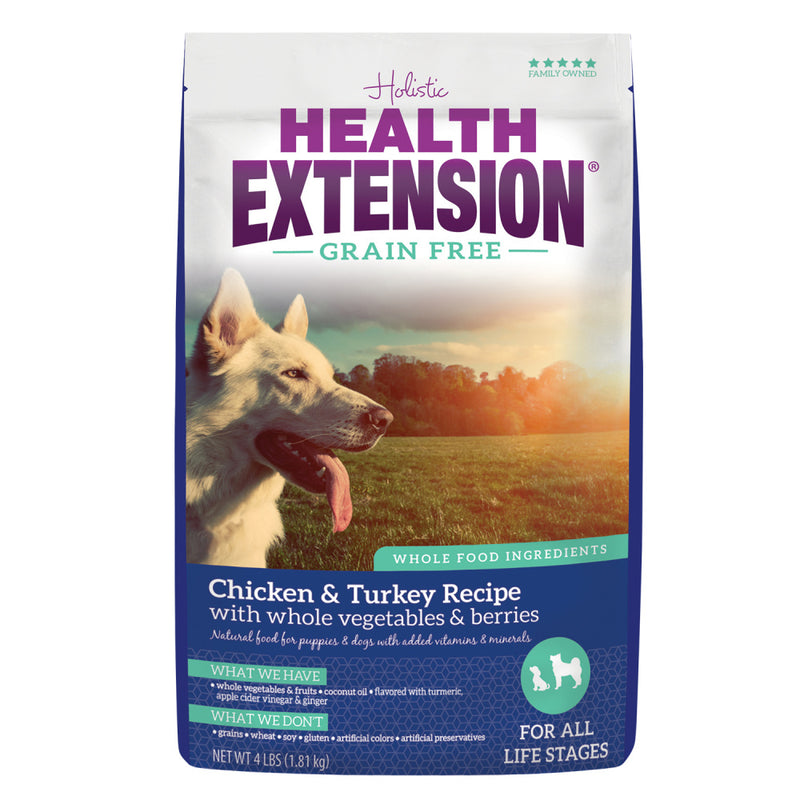 Health Extension Grain Free Chicken and Turkey Dry Dog Food - Mr Mochas Pet Supplies