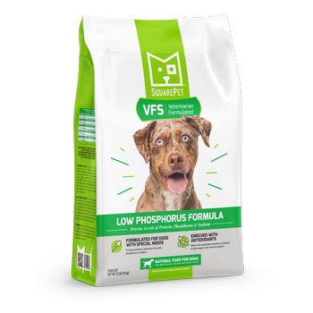 SquarePet Dog Dry Veterinarian Formulated Low Phosphorus - Mr Mochas Pet Supplies