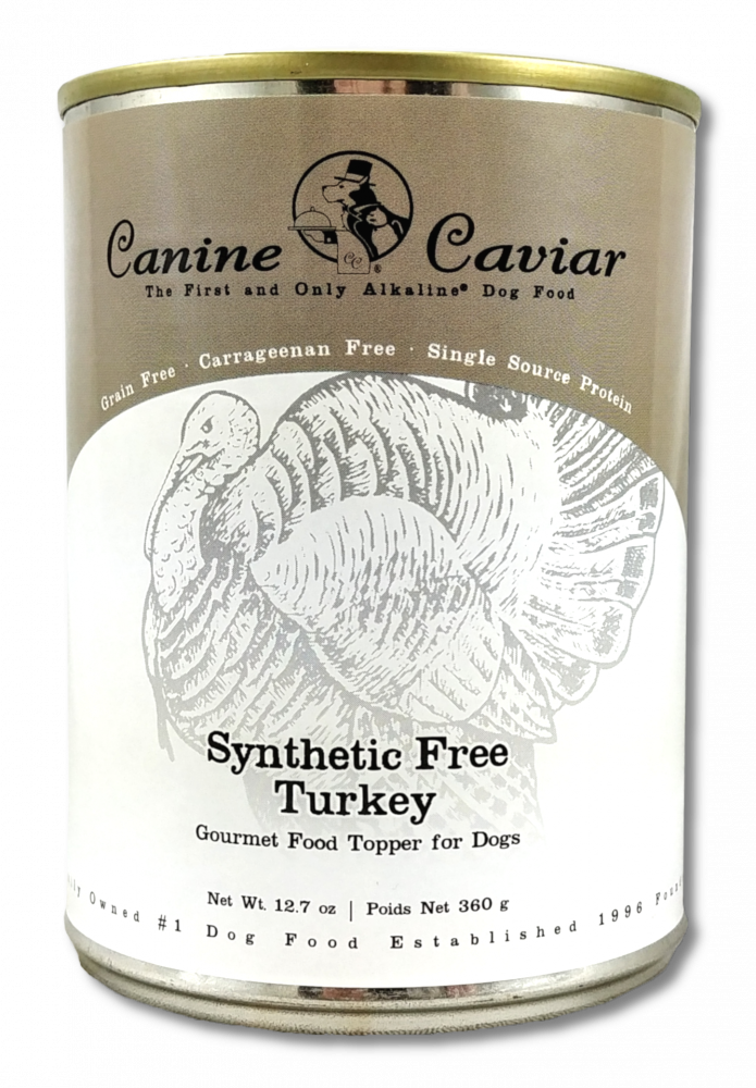 Canine Caviar Grain Free Synthetic Free Turkey Recipe Canned Dog Food - Mr Mochas Pet Supplies