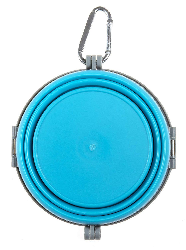 Loving Pets Blue Bella Travel Bowl - Mr Mochas Pet Supplies