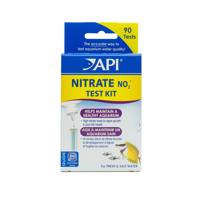 API Nitrate 90-Test Freshwater And Saltwater Aquarium Water Test Kit - Mr Mochas Pet Supplies