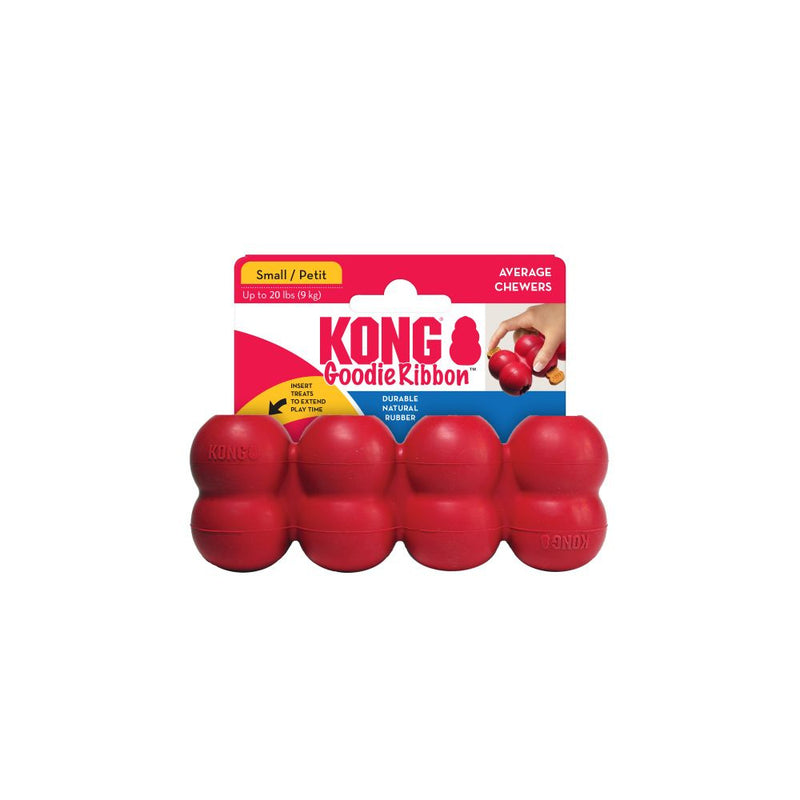 KONG KONG Goodie Ribbon Dog Chew Toy - Mr Mochas Pet Supplies