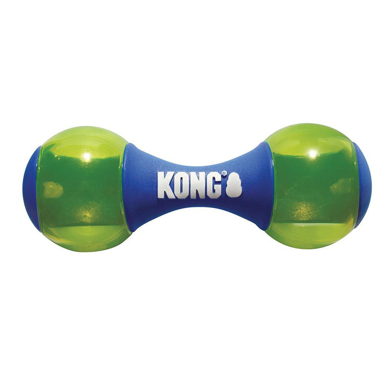 KONG Squeezz Action Dumbbell Dog Toy - Mr Mochas Pet Supplies