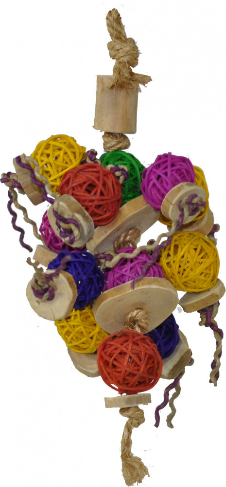A & E Happy Beaks Ball Thing Bird Cage Accessory - Mr Mochas Pet Supplies