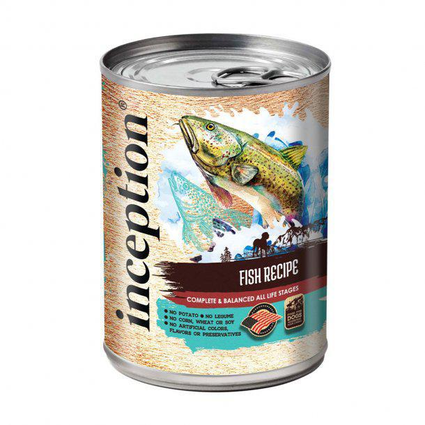 Inception Dog Can Fish Recipe 13 oz - Mr Mochas Pet Supplies