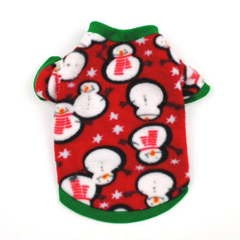 Christmas Snowman Fleece Sweatshirt - Mr Mochas Pet Supplies