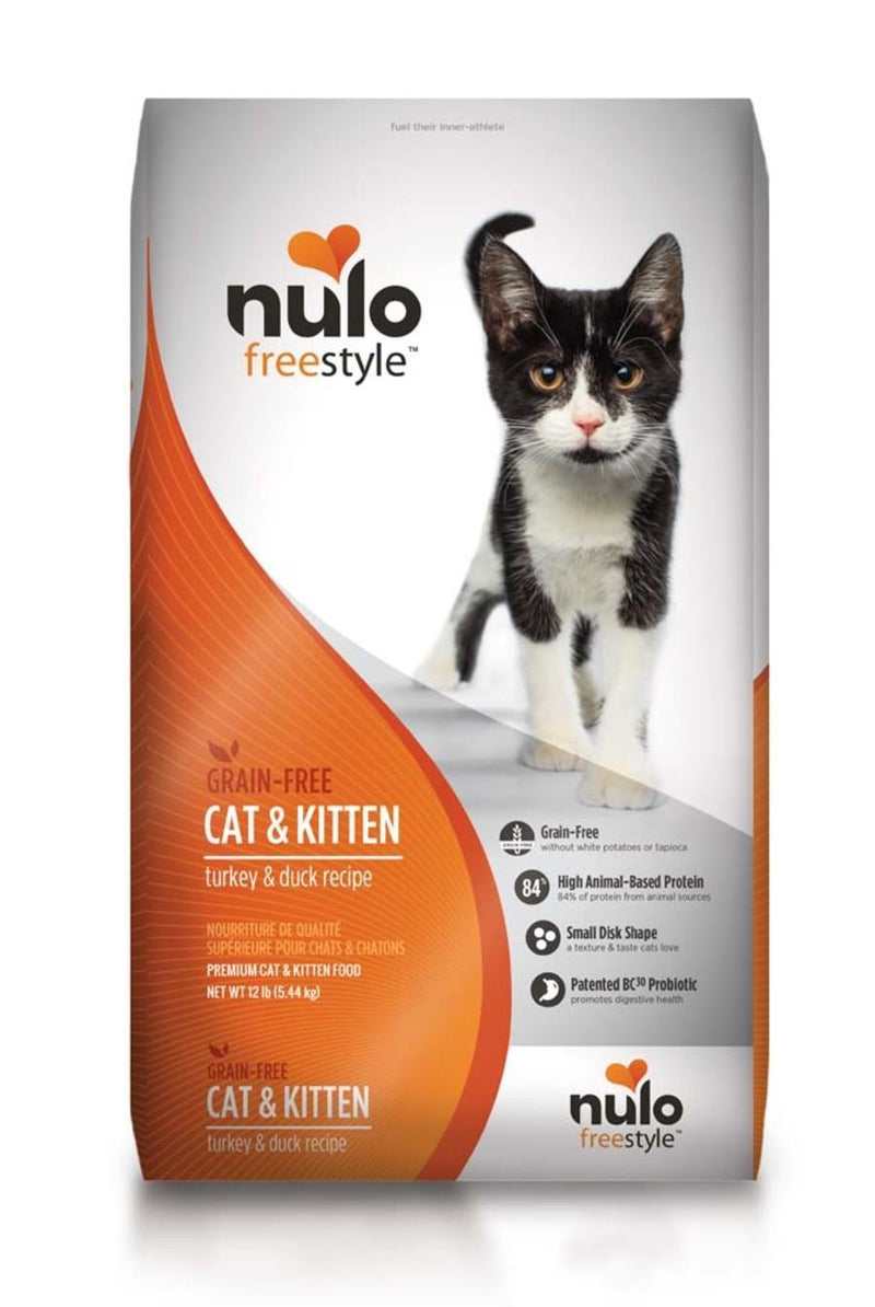 NULO GRAIN FREE TURKEY & DUCK RECIPE CAT & KITTEN FOOD - Mr Mochas Pet Supplies