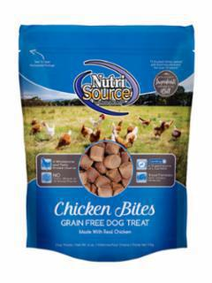 Nutri Source Grain Free Chicken Bites - Mr Mochas Pet Supplies