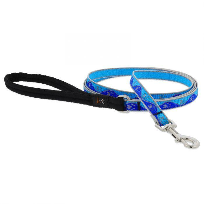 Lupine Blue Paw Leash - Mr Mochas Pet Supplies