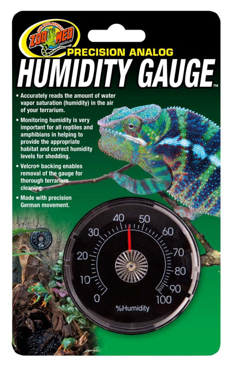 Zoo Med Precision Analog Humidity Gauge - Mr Mochas Pet Supplies