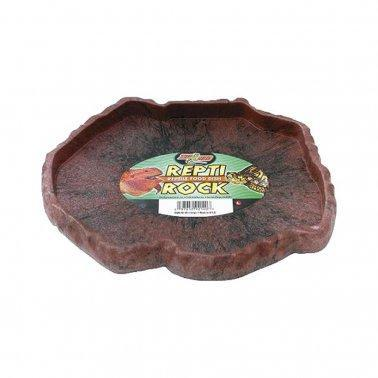 Zoo Med Repti Rock Reptiles Food Dish Green Color Small - Mr Mochas Pet Supplies