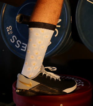 MEN'S FRIED EGG CREW SOCK - Havok Athletic