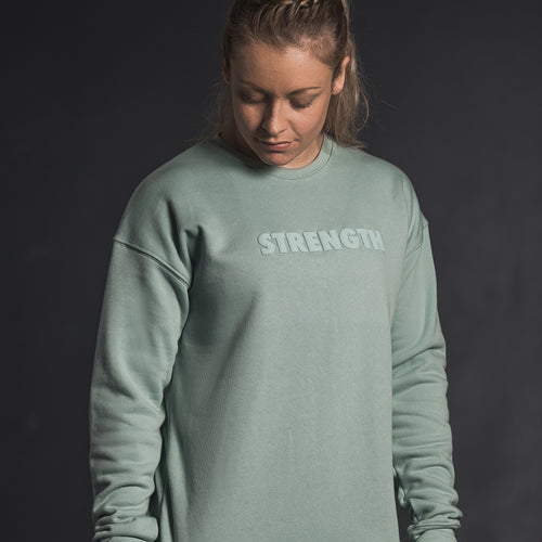 PUFF CREW SWEATSHIRT - Havok Athletic