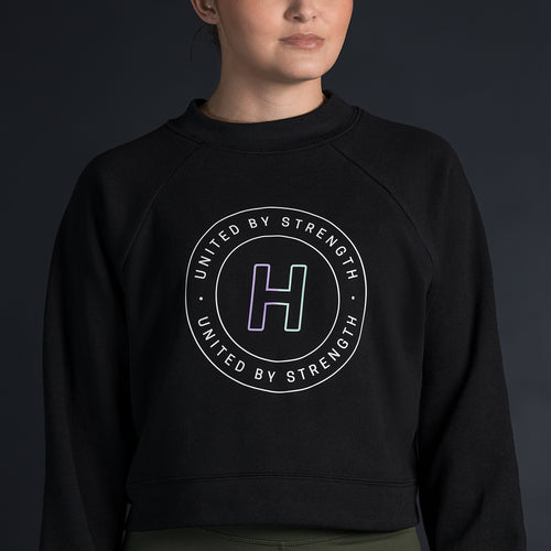 CROPPED CREW SWEATSHIRT - Havok Athletic