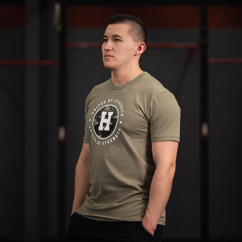 CAMO TEE - Havok Athletic