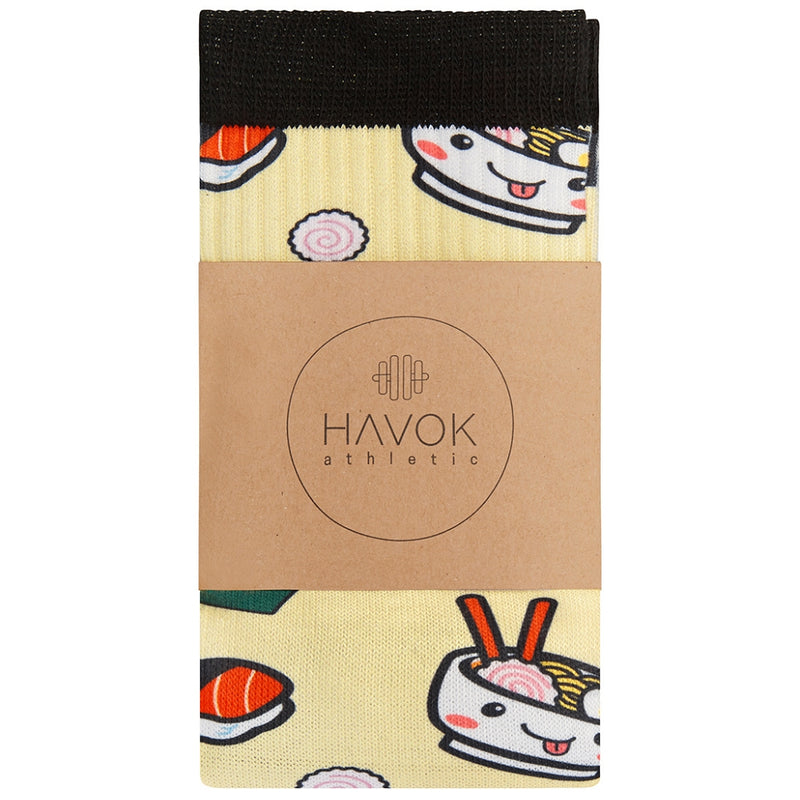 WOMEN'S SUSHI CREW SOCK - Havok Athletic