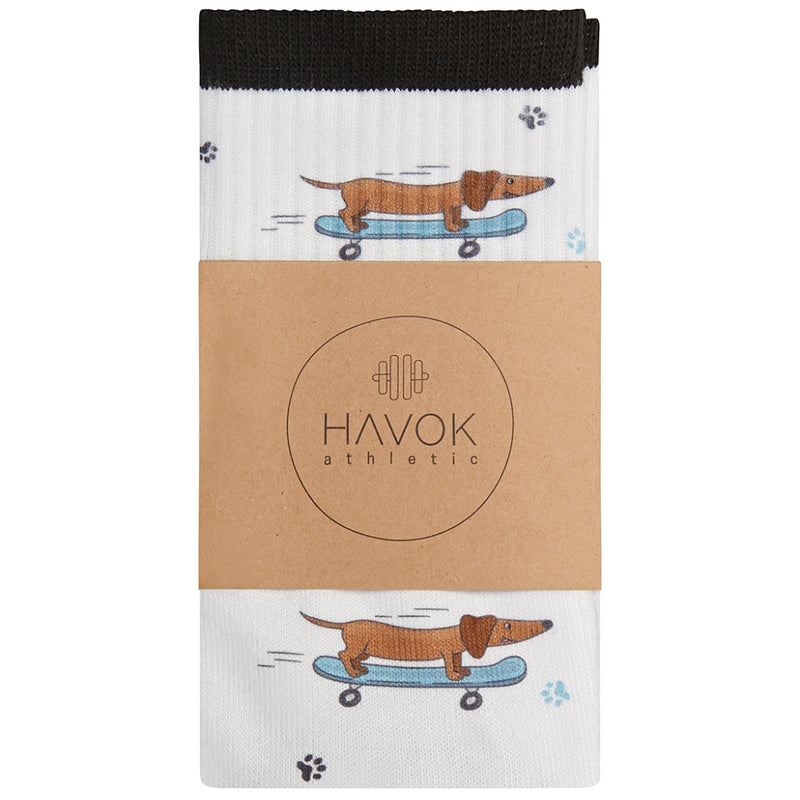 WOMEN'S KOBE CREW SOCK - Havok Athletic