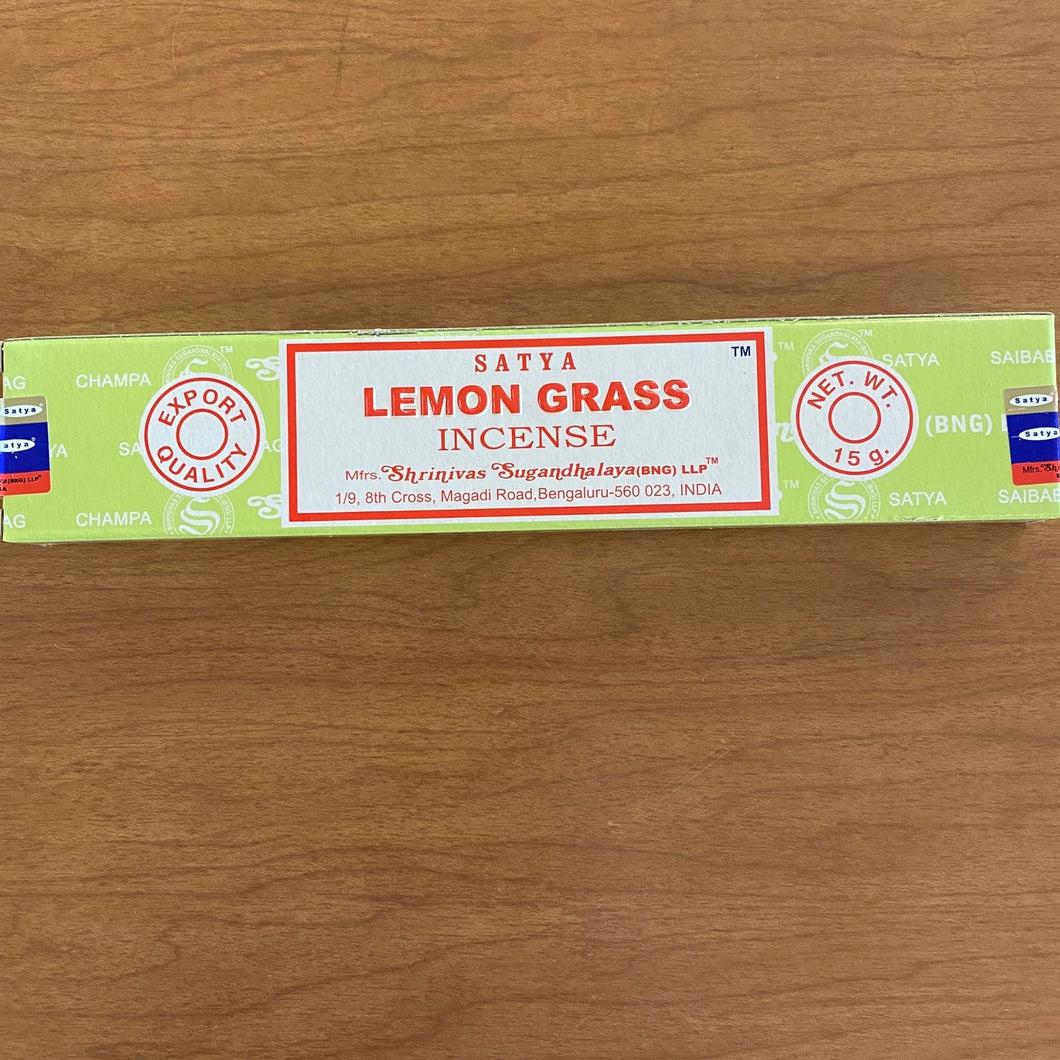 Satya Lemongrass  Incense