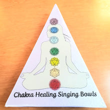 Load image into Gallery viewer, Mini Chakra Singing Bowl Set