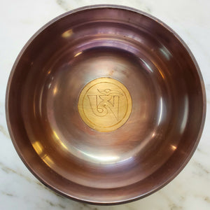 Om 5 inch Singing Bowl with Case